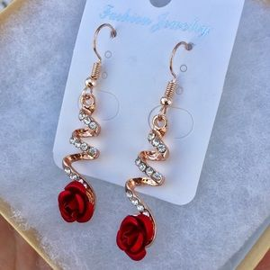 Rose Earrings 🌹🌹